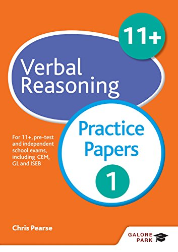 11+ Verbal Reasoning Practice Papers 1: For 11+, pre-test and independent school exams including CEM, GL and ISEB (GP)