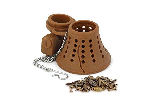 Barbuzzo LiberTea Tee-Ei–Clever glockenförmigen-Ei–einfach zu verwenden–leicht zu reinigen