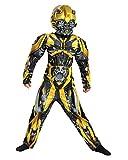 Horror-Shop Transformers Abejorro Niño Disfraz De Músculo L