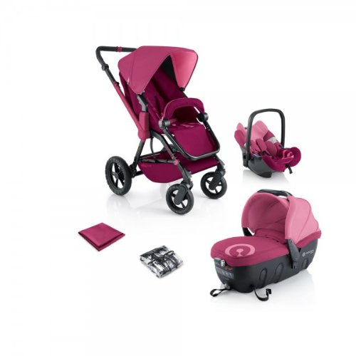 Concord Kinderwagenset Travel-Set Wanderer Air-Sleeper, Kollektion 2013 Pink,