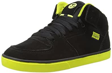 DVS Shoes Boys Torey High-Top DVF0000160 Black Sulfur Suede 1 UK Child, 33 EU, 2 US