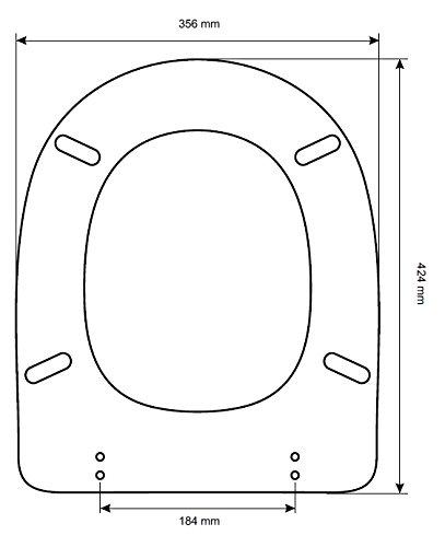 Copriwater per wc quadrarco/alpina-dolomite