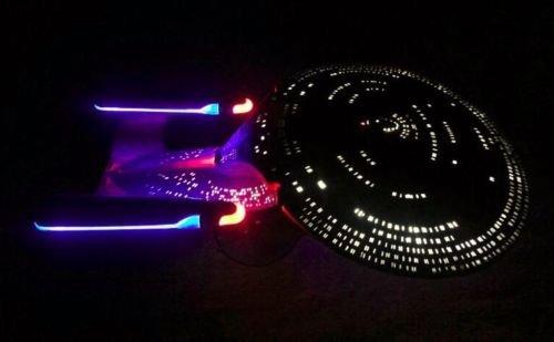 EFFECT LED Lighting KIT for Enterprise 1701 D 1:1400 AMT 656 STAR TREK