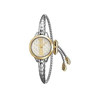 Just Cavalli – Reloj analógico de Cuarzo para Mujer con Correa de Acero Inoxidable JC1L034M0065