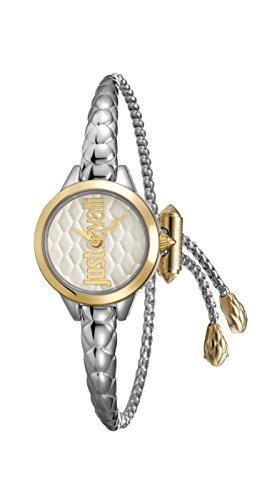 Just Cavalli Womens Analogue Classic Quartz Watch with Stainless Steel Strap JC1L034M0065