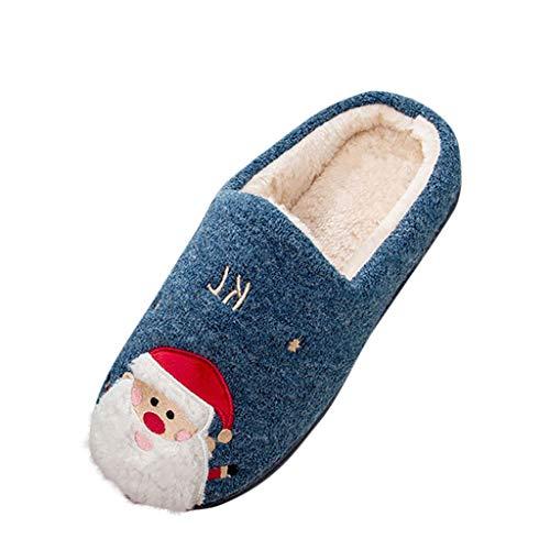 Sanahy rutschfeste Flache Fleece Schuhe Baumwolle Warme Hausschuhe Weichem Plüsch Weihnachtsschuhe Runde Kappe Frauen Damen