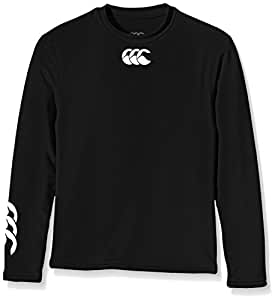 Canterbury Boy's Baselayer Cold Long Sleeve Top - Small, Black