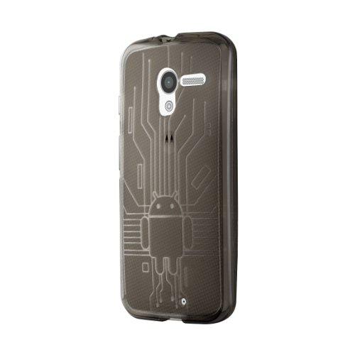 Bugdroid Circuit TPU Schutzhülle für Motorola Moto X (Screen Print Slips)
