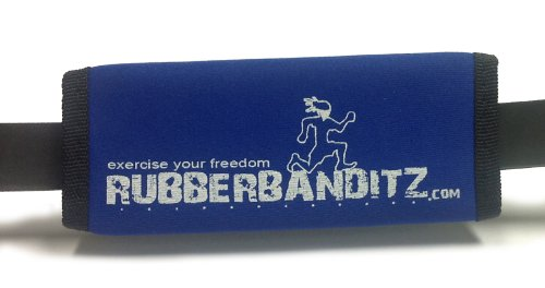 Rubberbanditz Blue Hand Strap For Resistance Band Training (1/2 Ankle Strap)