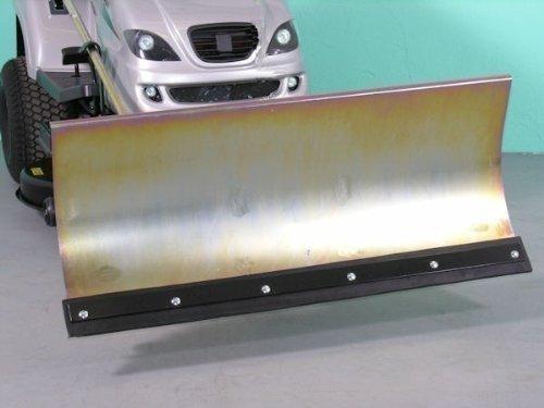 Weedeater 1192B verzinktes Schneeschild 118x50 cm für Rasentraktore ID 2234