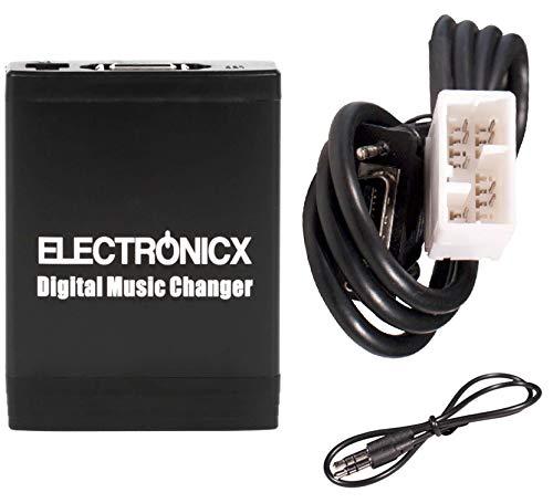 Electronicx Digitaler Auto-Musik-Wechsler DMC USB MP3 AUX SD CD-Adapter Radio Stereosystem Originalradio YTM06-HON2F
