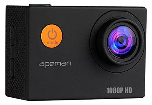 Apeman-Cmara-Deportiva-con-cscara-Impermeable-1080P-de-Vdeo-y-12MP-HD-Imagen-Resiste-al-Agua-Sumergible-Hasta-30m-Lente-de-Gran-Angular-de-170-Grados-con-1050mAh-Batera-Multiples-Accesorios-para-Depor