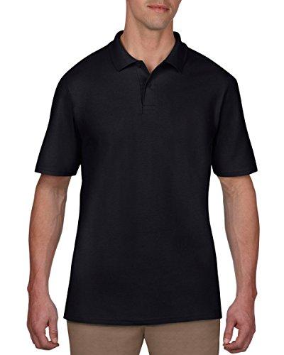 Anvil Herren T-Shirt Schwarz