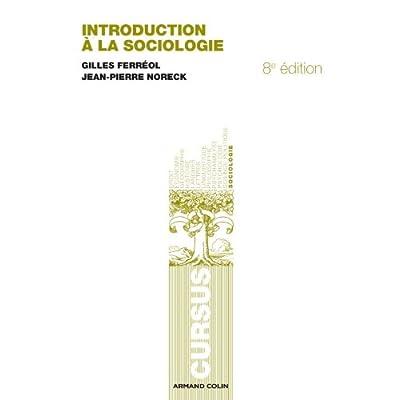 Introduction à la sociologie - 8e éd.