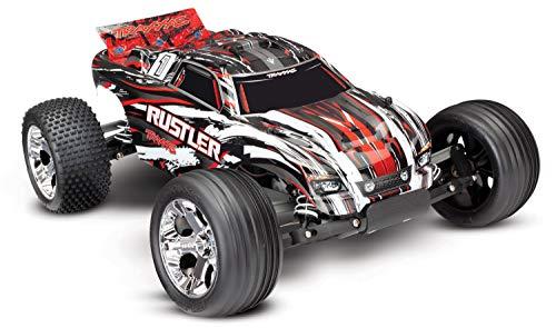 Traxxas Rustler Brushed 1:10 RC Modellauto Elektro Truggy Heckantrieb (2WD) RTR 2,4 GHz*
