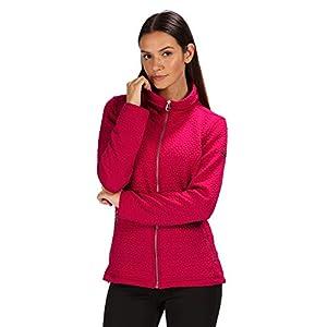 41pccLB4ikL. SS300  - Regatta Womens Subira Full Zip Quilted Jersey Fleece Jacket