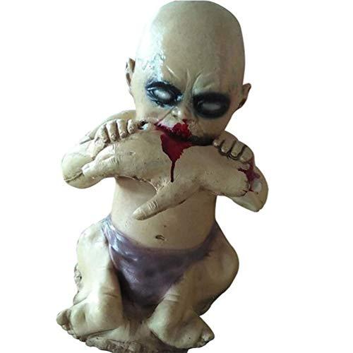 Beste Scary Halloween Dekorationen - TYJH Schreckliche blutige Essen Hand Baby