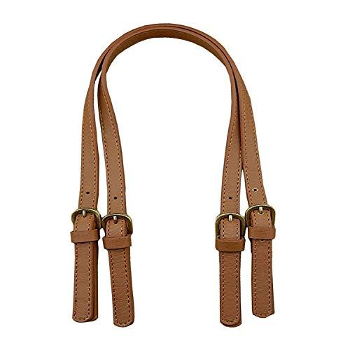 67-71 cm Einstellbare 1 para Taschengriffe DIY Tasche Gürtel Split Leder Handtasche Zubehör Ersatz Umhängetasche Riemen - Braun Gewebt Leder Gürtel