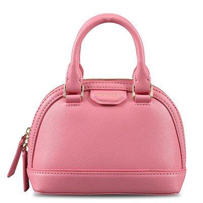 SZJZ Borsa Shell sacchetta Mini Borsa in pelle Borsette Crossbody moda femminile borsa tracolla in pelle,giallo Pink