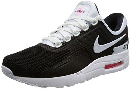 Nike Air Max Zero Essential, Baskets Homme, Noir (Black/White-White-Solar Red), 41 EU