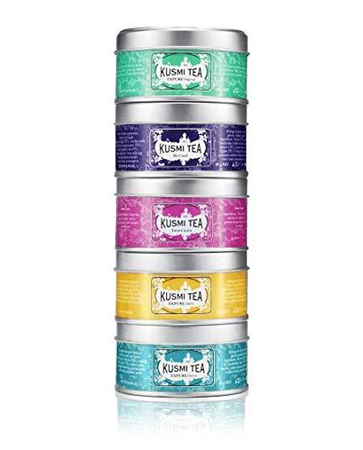 Kusmi Tea - Geschenkset mit 5 Minidosen der Wellness-Tees à 25 g