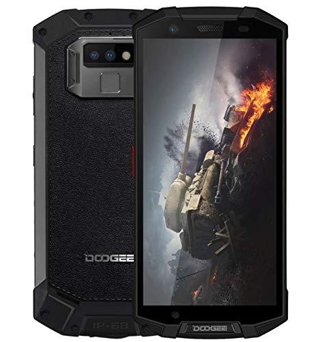"DOOGEE S70 - 5.99 ""FHD + (18: 9 Verhältnis) 4G Outdoor-Smartphone, IP68 / IP69K wasserdicht / staubdicht / stoßfest, Helio P23 Octa Core 6 GB + 64 GB, 16MP + 5MP + 12MP Kamera, Spielmodus / drahtlose Ladung / NFC / GPS 5500mAh Batterie - Schwarz"
