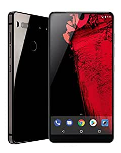 Essential Products Phone 128 GB Unlocked with Full Display, Dual Camera - Black Moon