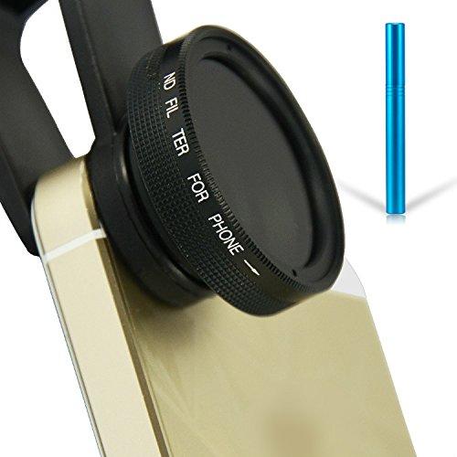 First2savvv JTSJ-PS-01F3 Telefon ND Neutral Graufilter filter Objektiv für Handys - Huawei Ascend...