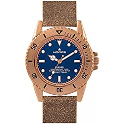 2515l-16Hoops Uhr Curved blau