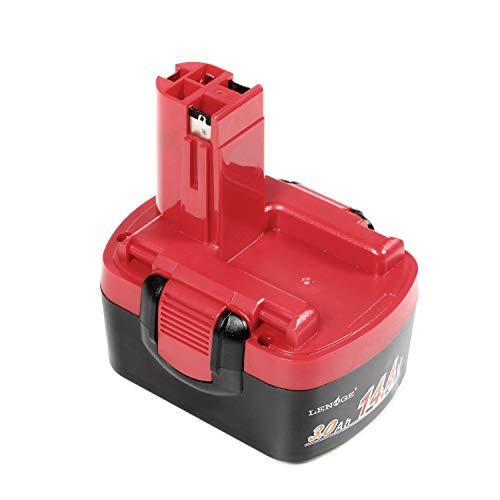 LENOGE Outil électrique Batterie 14.4V 3.0Ah Ni-Mh pour Bosch 2...