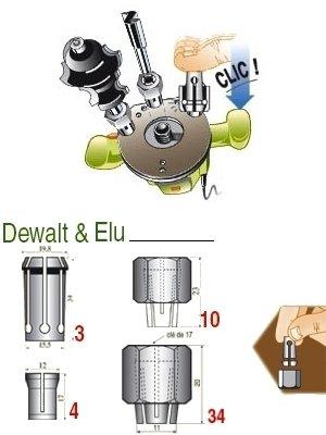 DeWalt DE6950-XJ Pinza 6 1500 W
