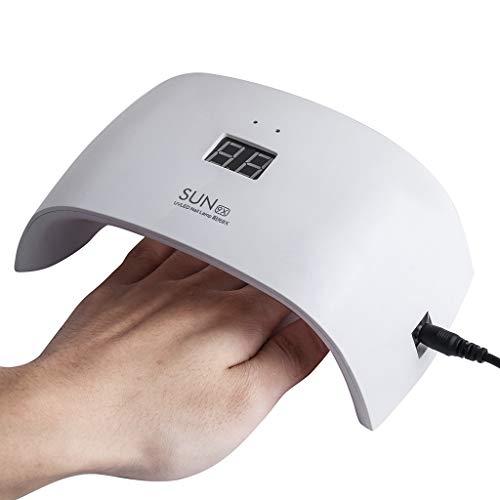 PTHM Lampe Gel Art Polish Machine LED Mini UV Aushärtung Nagel Gel Nail Dryer Light Nail Nail
