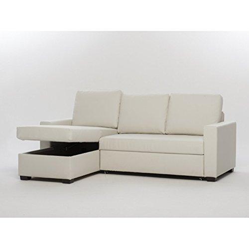 Sofá cama con chaise longue caja Reversible
