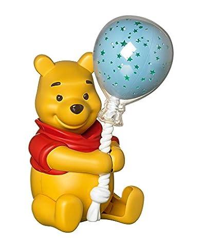 TOMY Winnie l'Ourson - T72199 - Veilleuse Ballon Etoilé Winnie - Veilleuse Musicale Premier Age