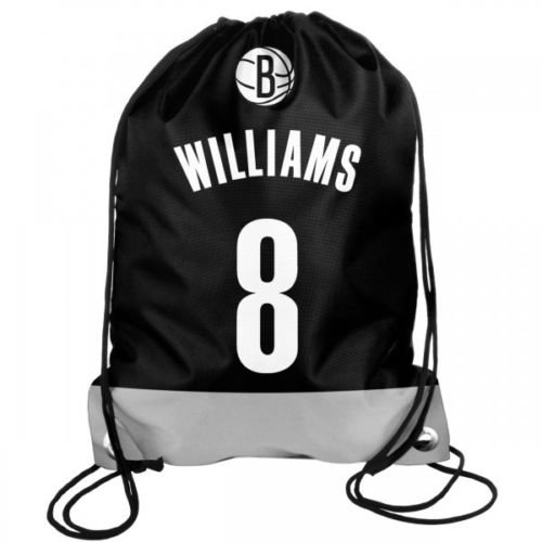 Forever Collectibles NBA Basketball Brooklyn Nets Deron Williams 8 Rucksack Backpack Sportbeutel Drawstring Gym Bag - Deron Williams, Basketball