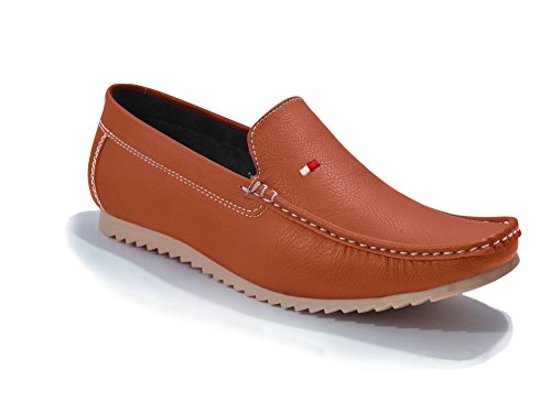Feetway Leather Casual Loafers For Men Casual Shoes Colourful Slip On shoes...