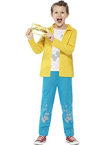 Kostüm Charlie Bucket - Kinder Roald Dahl-Charlie Bucket-Kostüm Large (10-12 years)