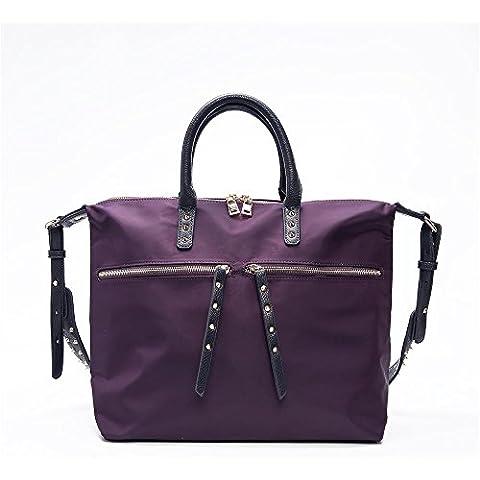 ROSE NOIRE Nuovo design moda nylon ladies borsa a tracolla, corsa all'aperto semplice Messenger bag canvas borse, cuscini, elemento arancia