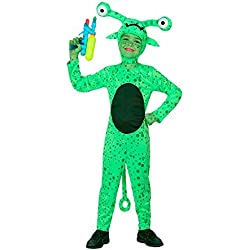 Disfraz de alien infantil - Único, 5 a 7 años