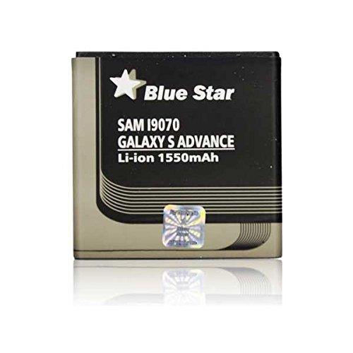 Blue Star Premium - Batteria per Samsung Galaxy S Advance, Li-Ion 1550 mAh