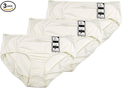 Jockey Women's Underwear Supersoft French Cut - 3 Pack (9, Ivory) (Jockey Women 9)