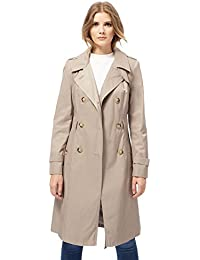 The Collection Womens Taupe Trench Mac Coat from Debenhams