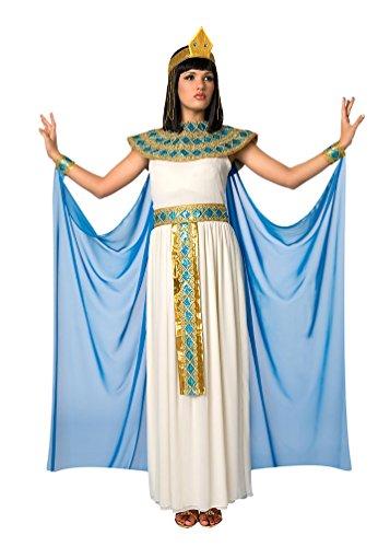 Kind Cleopatra Kostüm Ägyptische - Karneval-Klamotten Kostüm Cleopatra Dame Kostüm Karneval Ägyptische Kaiserin Damenkostüm Größe 44/46