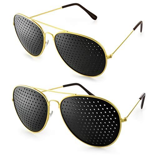 2er SET Rasterbrille im stylischen