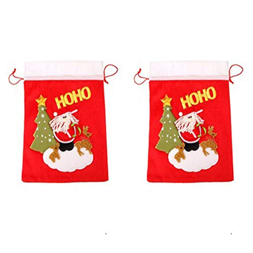 Amasawa 2 Sacos de Santa Personalizados