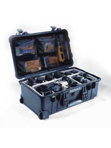PELI Koffer 1510 - Ausführung: mit Unterteilungssystem, Gewicht kg: 5.44