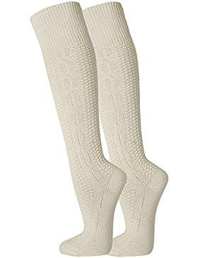 FussFreunde, 2 Paar zünftige Kniebundhosen-Strümpfe von TippTexx24, Oktoberfest