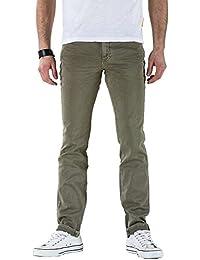 Meltin'Pot - Pantalón  MANER G2380-OG000 para hombre, estilo slim, ajustado, talle normal