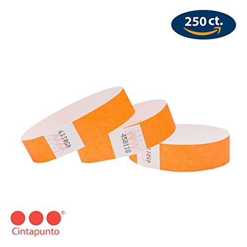 Cintapunto Unisex - Adulto 655043551905, Neon Orange, Standard