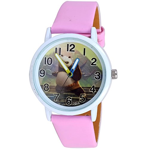 Super Drool SD0283_WT_PINK  Analog Watch For Girls